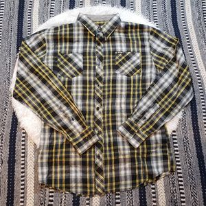 Zoo York Men's Plaid Button Down Shirt
